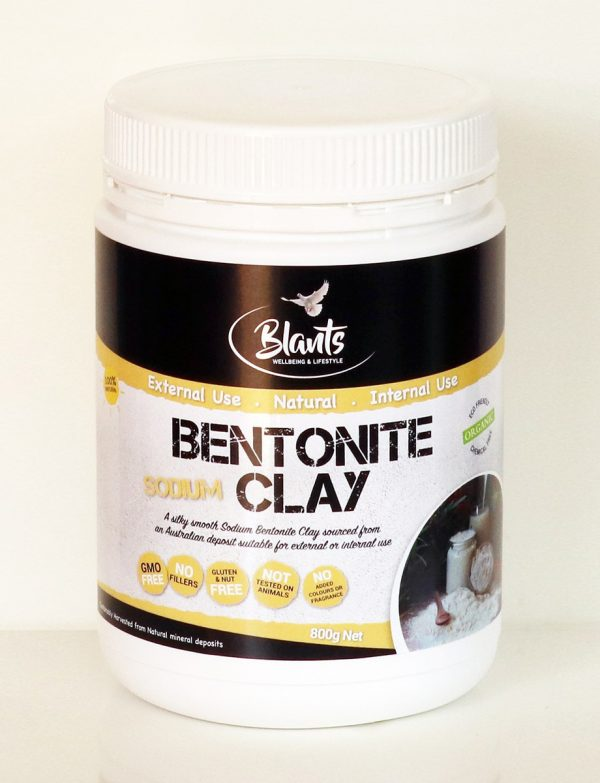 Organic Bentonite Clay 800g