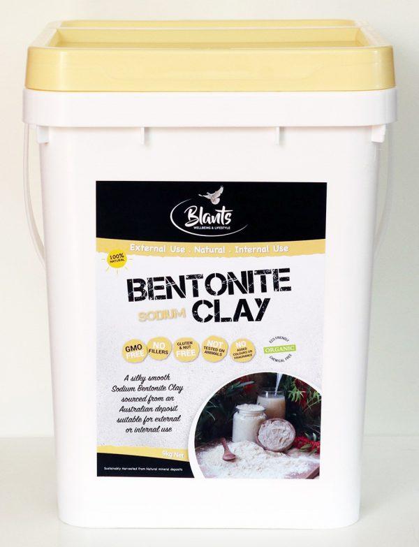 Organic Bentonite Clay 9kg