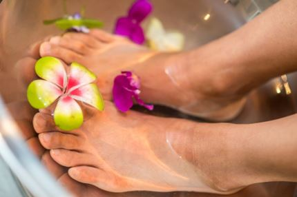 Epsom Foot Soak