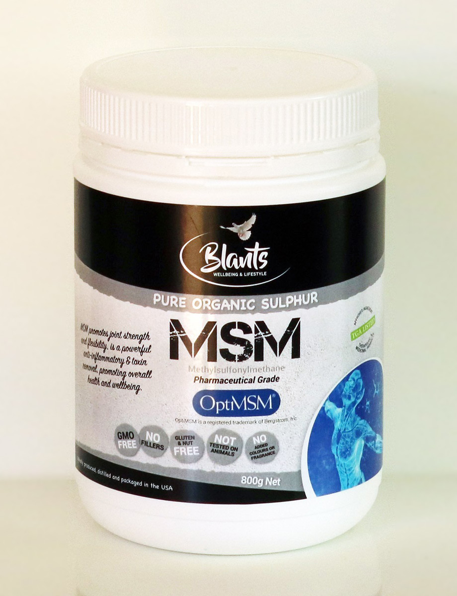 MSM - Pure Organic Sulfur-OptiMSM 800g