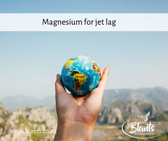 Magnesium for jetlag