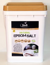 Natural Epsom Salt - food grade 11kg