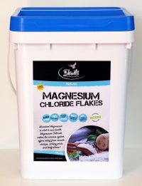 Natural Magnesium Chloride Flakes - 10kg