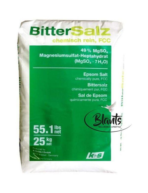 Natural Epsom Salt Bulk - Food Grade