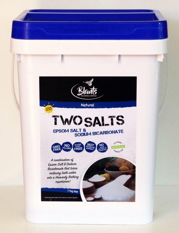 Two Salts - Epsom Salt and Sodium Bicarb combined - 11kg