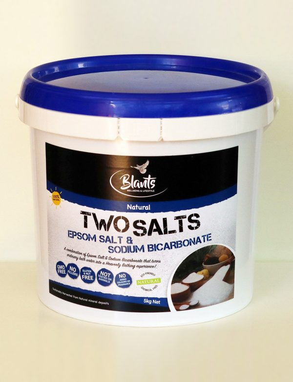 Two Salts - Epsom Salt & Sodium Bicarb combined - 5kg